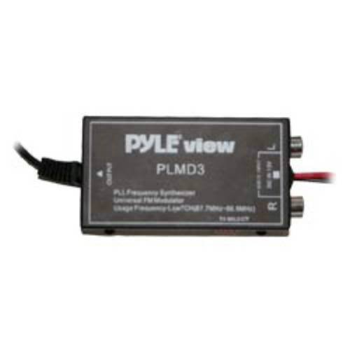 Pyle PLMD3 7 Channel FM Wired Stereo FM Modulator