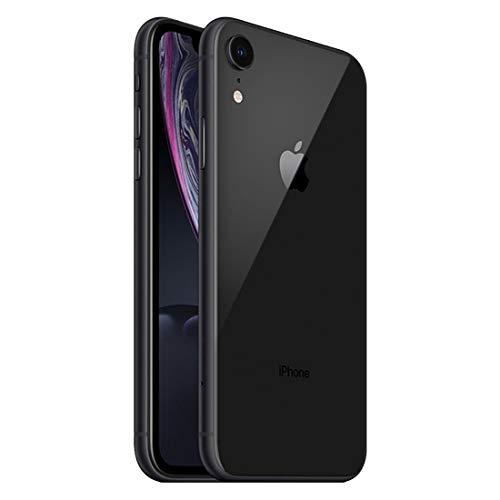 """iPhone XR Apple Preto 64GB, Tela Retina LCD de 6,1"""", iOS 12, Câmera Traseira 12MP, Resistente à Água e Reconhecimento Facial"""