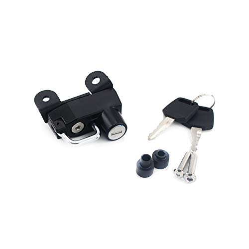 Motorcycle Helmet Lock Anti-Theft For Ducati Scrambler Sixty/Icon/Urban Enduro 2015-2019-Black