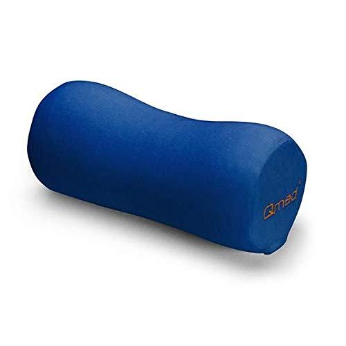 Qmed Cuscino cervicale Head Pillow Ø 12 cm x 27 cm / Cuscino ergonomico in Memory Foam | Supporto e sollievo dalla pressione per collo, lombare e ginocchia