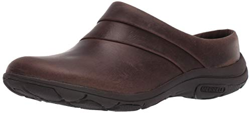 Merrell Women's Dassie Stitch Slide Shoe, Espresso, 6 M US