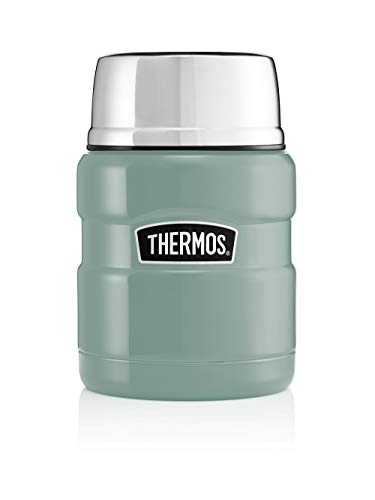 Picture of Thermos 170347 Food Flask, Stainless Steel, Duck Egg, 470ml