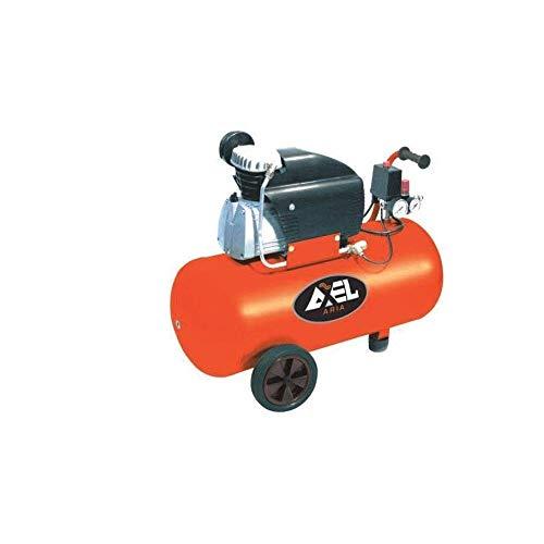 Compressore aria 50 litri coassiale lubrificato 2 Hp 8bar FU1503 AXEL