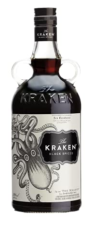 7. Ron especiado negro Kraken