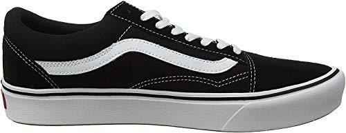 Vans UA Comfycush Old S, 5, Medium, Sneaker Unisex-Adulto, Multicolore ((Classic) Black Vnvne), 36/37 EU
