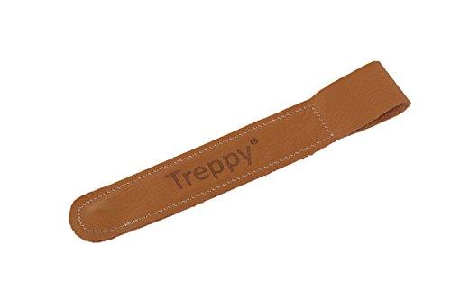 Treppy 2000 veiligheidsgordel, lederen riemen, bruin