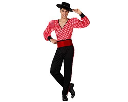 Atosa Disfraz Flamenco Rojo Hombre Adulto M