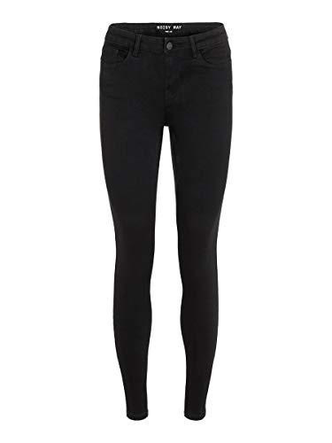 Noisy may Female Skinny Fit Jeans NMEVE Low Waist 3134Black