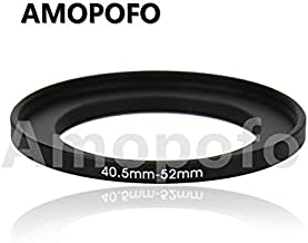 37 to 46mm Metal Step Up Ring Adapter for Canon,for Nikon,for Sony,for Fuji Camera Lenses /& UV,ND,CPL Camera Filters Made from CNC Machined Space Aluminum with Matte Black Electroplated Finish