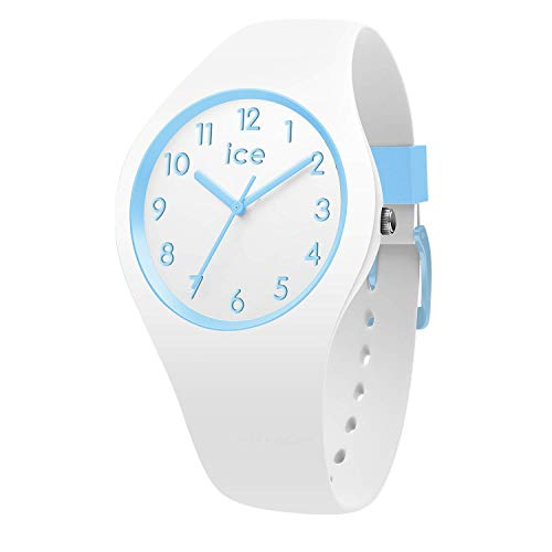 Ice-Watch - ICE ola kids Cotton white - Boy's wristwatch with silicon strap - 014425 (Small)