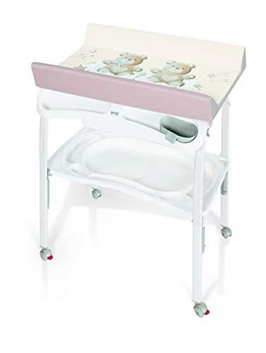 Brevi 596-668 Pratico Table à langer pliable My Little Bear