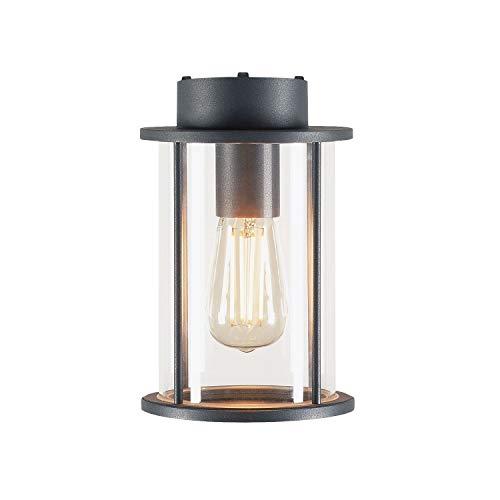 SLV Lampada da incasso a soffitto PHOTONIA / Illuminazione per pareti, vialetti, ingressi, faretto LED per esterni, lampada da giardino, faretto da soffitto / E27 IP44 60.0W antracite