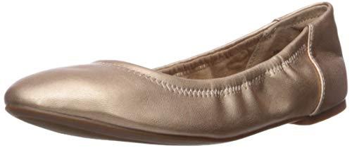 Amazon Essentials Damen Belice Ballet Flat Ballerinas, rose gold, 39.5 EU