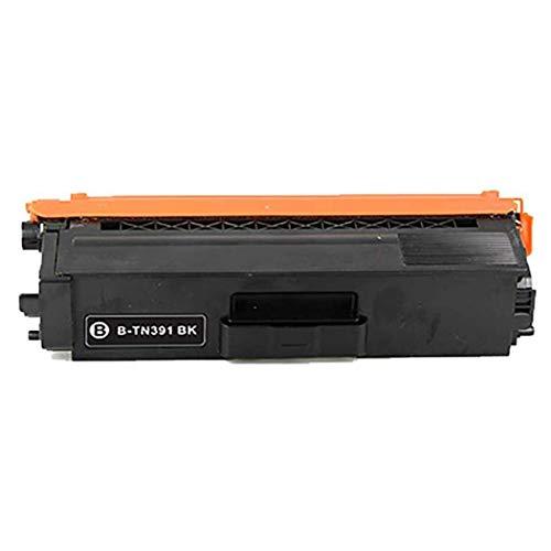 Compatible con el hermano TN391BK TN391C TN391M TN391Y Caja de tóner para su hermano L8250CDN / L8350CDW / L8400CDN / L8600CDW / L8850CDW Impresora de color black