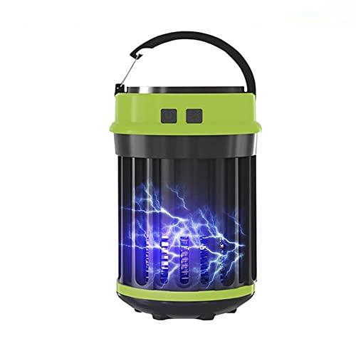 Lámpara LED impermeable para campamento, matamosquitos y mosquitos, lámpara con trampa antimosquitos, Exterminador de insectos, linterna para acampar al aire libre