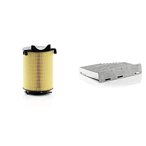 Original MANN-FILTER Luftffilter C 14 130 – Für PKW & Innenraumfilter CUK 2939 – Pollenfilter mit Aktivkohle – Für PKW
