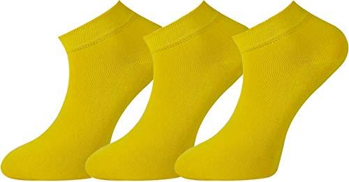 Mysocks Einfach Füsse und Sneakersocken Gelb