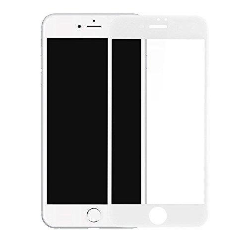 """Película de Vidro 3D, Cell Case, Smartphone Apple iPhone 7 4.7"""", Película Protetora de Tela para Celular, Branco"""