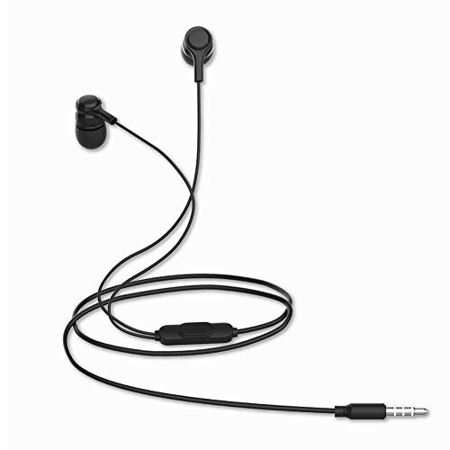 UXD Earbuds Headphones with Microphone, Wired Stereo Earphones, 3.5mm Jack in-Ear Headphones with Built-in Mic for Smartphones, Computer Laptop, iPod, iPad, MP3 Players