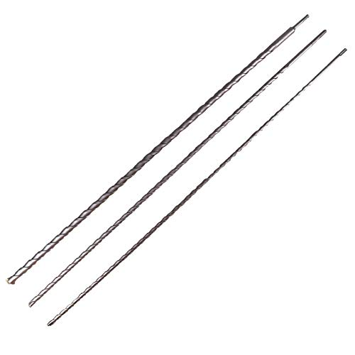 WALTER Bohrer-Set 3-teilig, 1000 mm lang, Durchmesser 12/16/24 mm, Karbonstahl, Spitzen hartmetallbestückt, SDS Plus Bohrersatz