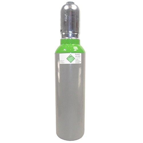 Druckluft 5 Liter 300 bar fabrikneue gefüllte Druckluftflasche Pressluft Eigentumsflasche 300 BAR - von Gase Dopp