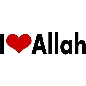 Amazon.com: Allah Car Chrome Emblem 3D Sticker Round ...