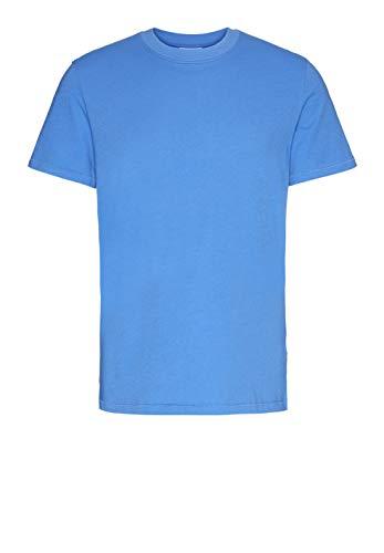 ARMEDANGELS Herren JAANTE - JAANTE - M Royal Blue Shirts T-Shirt Kurzarm Rundhals