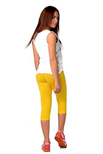 Mallas de mujer amarillas. Leggins amarillos mujer