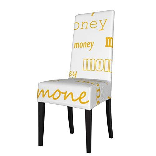 DOGPETROOM dinero grande silla de comedor cubierta de respaldo alto para hotel fiesta boda cocina