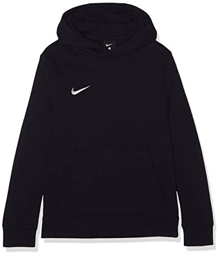 Nike Unisex-Kinder Hoodie Po Fleece Tm Club19 Kapuzenpullover, Schwarz (Black/White/010), S (128–137 cm/8-9 Jhare)