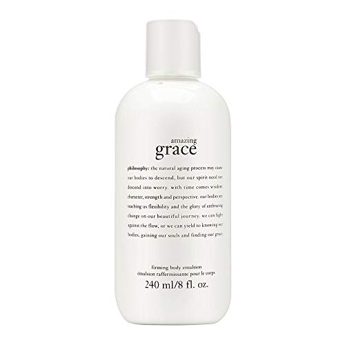 Philosophy Amazing Grace Firming Body Emulsion for Women, for Dry, Aged or Wrinkled Skin, 8 Fl Oz