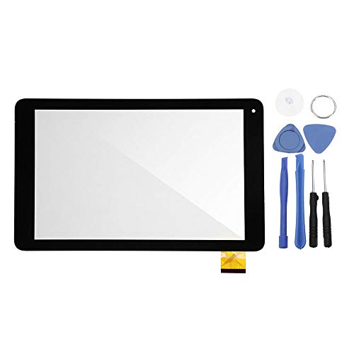 ZJYSM Tablet Parts Touch Screen Digitizer (No LCD) Glass For Alba 10 Inch Tablet AC101CPLV3