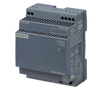 6EP3333-6SB00-0AY0 | SIEMENS LOGO!POWER, 24V/4A, STABILIZED POWER SUPPLY INPUT, 100-240VAC OUTPUT, DC24V/4A
