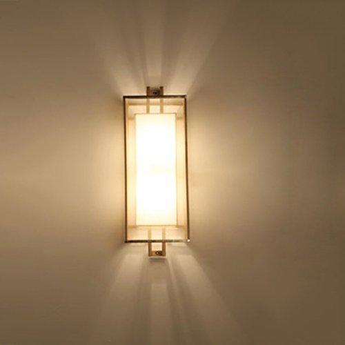 Applique Murale Simple Mur Lampe dans Le Salon Hôtel Projet Chambre Corridor Allée Mur Lumière Creative TV Fond Mur Décoratif Mur Lam (Couleur : A)