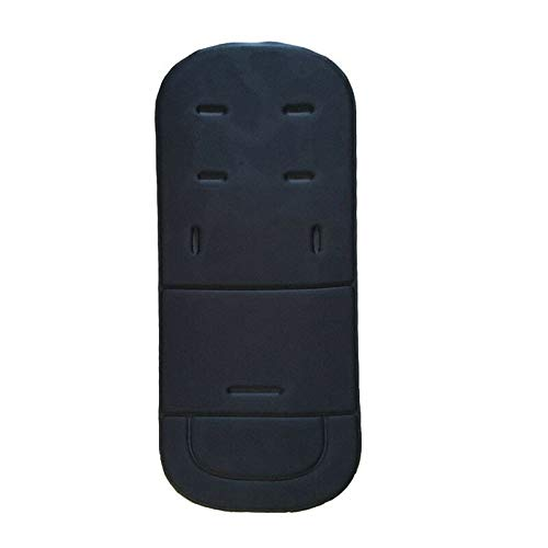 Replacement Parts/Accessories to fit Britax Strollers and Car Seats Products for Babies, Toddlers, and Childre (Black Seat Liner Cushion)