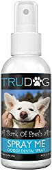 A Dogs Bad Breath Spray is a simple method of freshening up your dogs bad breath as well as fighting against plaque, tartar and bacteria.