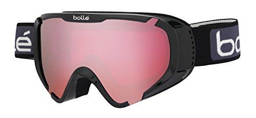 bollé Explorer OTG Black Shiny/Vermillon 3-6 Years Ski Goggles Unisex-Junior