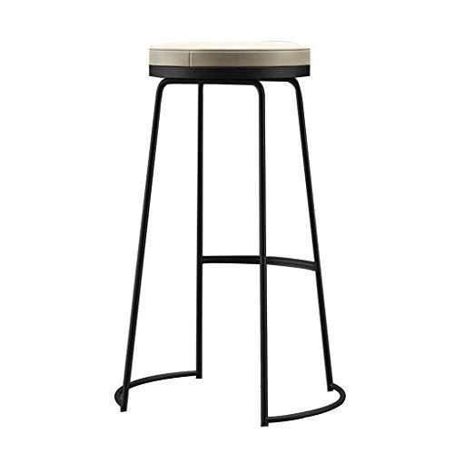 Chaise de Petit Déjeuner Hautes Tabouret de bar chaise de petit déjeuner tabouret haut salle à manger et siège ovale cuisine petit-déjeuner compteur serre de jardin café-bar (45/65/75 cm)