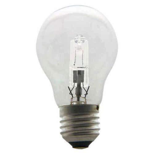 Heitronic - Juego de bombillas halógenas (cristal, 70 W, luz blanca cálida)