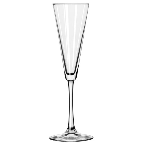 Libbey 7552 Vina 6.5 Ounce Trumpet Flute Glass - 12 / CS