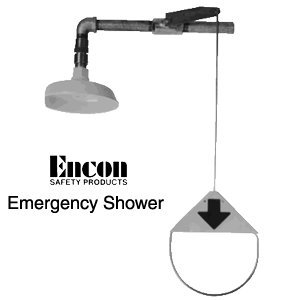 Read About Emergency shower - Vertical pipe mount