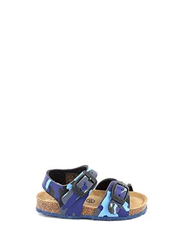 Grunland SB0383 40AFRE Sandalo da Bambino Blu Militare Blu 26 EU