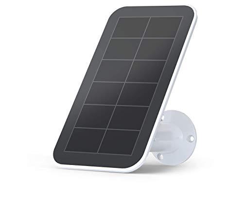Arlo zertifiziertes Zubehör | Sonnenkollektor/Solarladegerät (wetterfest,2,44m Magnet-Ladekabel, verstellbare Halterung, nur mit Ultra, Pro3 & Floodlight Überwachungskamera kompatibel) VMA5600