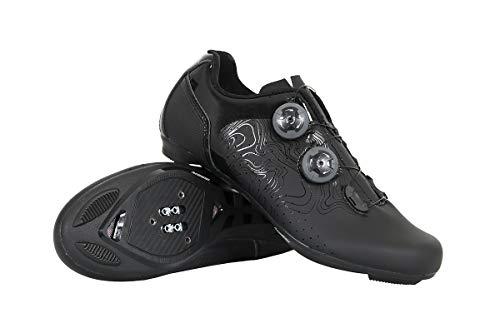 Massi Zapatillas CARRETERA Argon Black T.41, Scarpe da Mountainbike Unisex-Adulto, Nero (Negro Negro), 41 EU