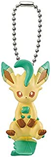 Bandai Pokemon Tsumande Tsunagete Eevee Special Figure Swing Keychain~470 Leafia Leafeon Folipurba Phyllali