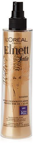 L Oreal Elnett Protector Calor Spray Fijador Cabello Liso - 170 ml