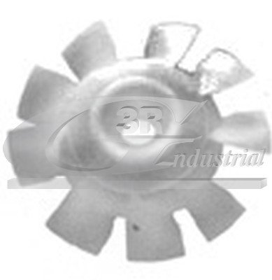 3RG 80238 Ventilador, refrigeración del motor