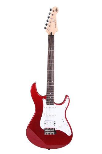 Yamaha Pacifica 012 Guitarra Eléctrica Guitarra 4/4 de madera, 64.77 cm, escala 25.5 pulgadas, 6 cuerdas, selector pastillas de 5 posiciones, Color Rojo Metálico