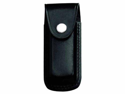 Lederetui für Opinel Messer Nr. 9,10, Pilzmesser, Gärtnermesser, schwarz