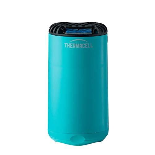ThermaCELL Anti Mosquito para Exterior. 20 m2 de protección sin DEET, Incluye difusor + Recarga + 3 recambios, Azul